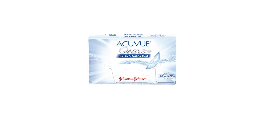 Seit Februar ist die neue torische Silikon-Hydrogellinse ACUVUE® OASYS™ for ASTIGMATISM von Johnson & Johnson Vision Care in Österreich erhältlich.