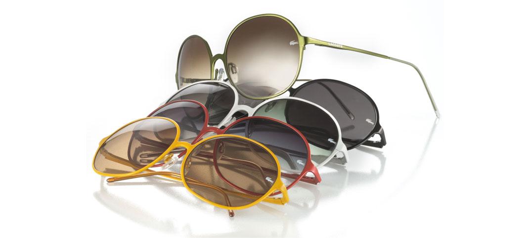 Sonnenbrillentrends 2009 von Lacoste, Puma, Esprit und Elle ...