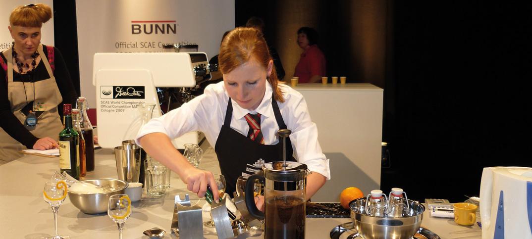 Sandra Stucki beim Wettbewerb