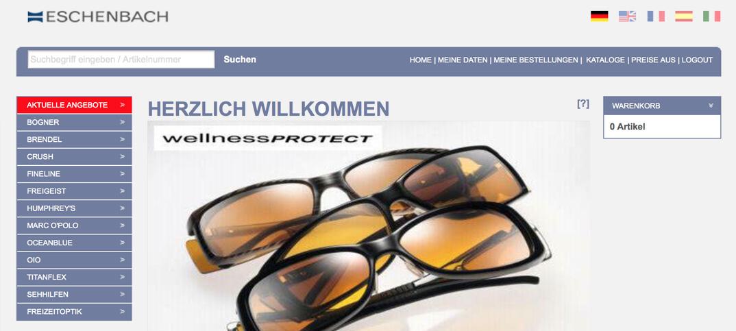 Eschenbach Onlineshop