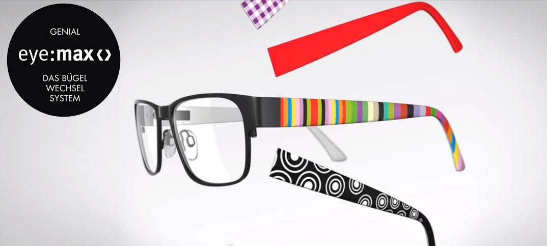eye-max das Bügel-Wechsel-System