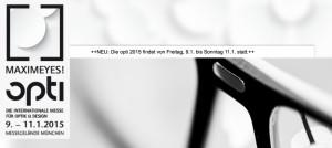 opti 2015 @ Messegelände München | München | Bayern | Deutschland