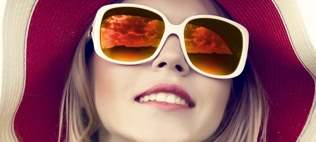 Sun Mirror Orange