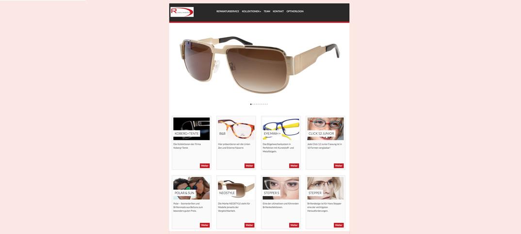 Radlinger Website Home