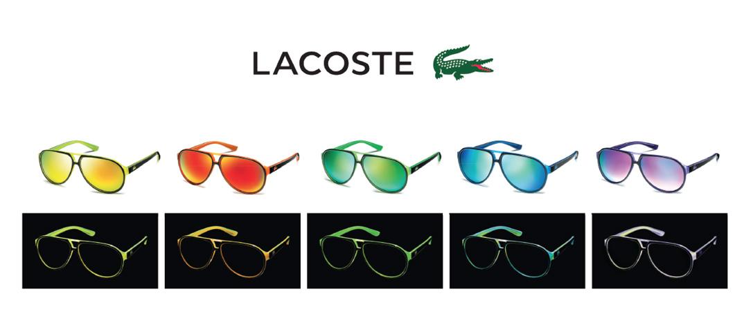 Neon: Die Eyewear Neuheit von LACOSTE als Special Edition für 2014 ...