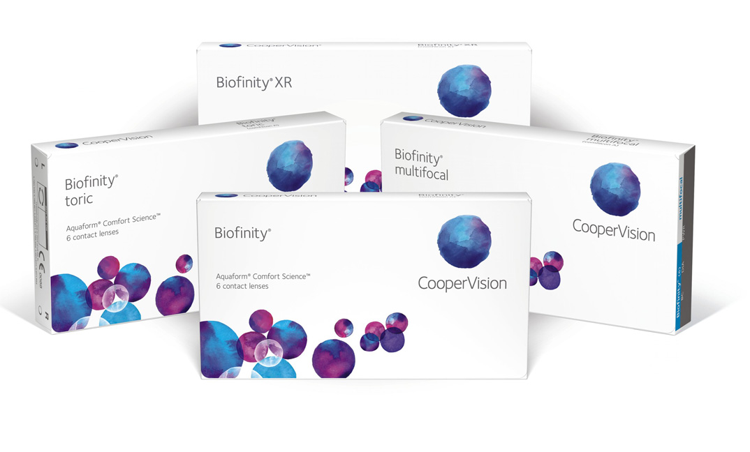 CooperVision Biofinity Familie