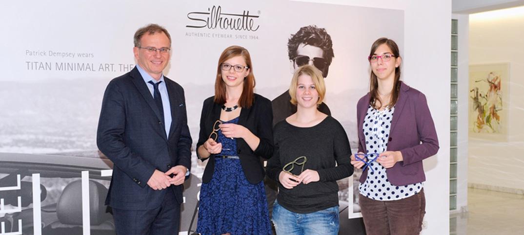 Patricia Mungenast aus Innsbruck gewinnt den diesjährigen Brillen-Designwettbewerb