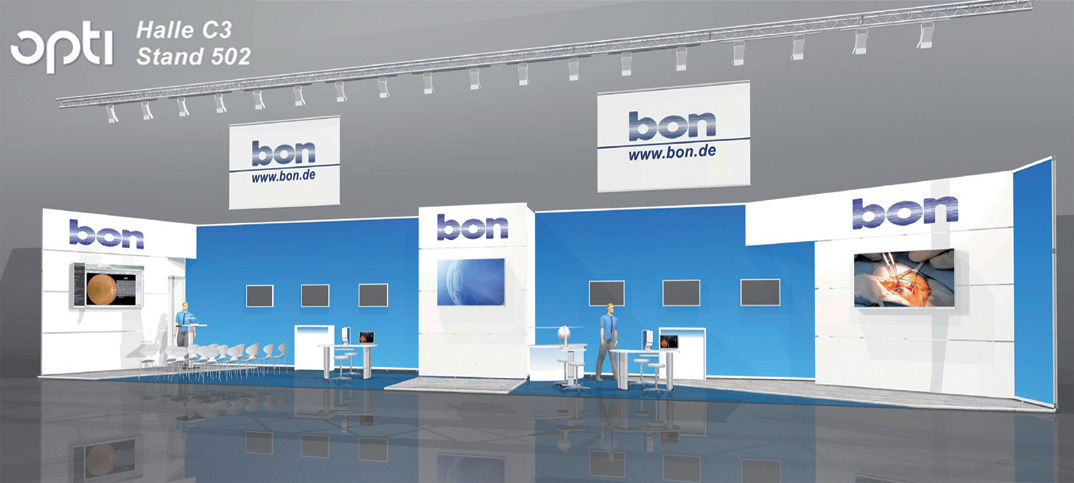 bon optic auf der opti 2015