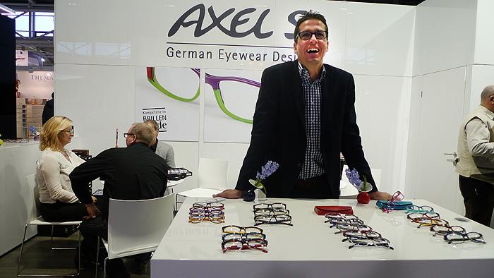 OPTI 2015 AXEL S: Alexander Uebele - erfolgreich im Segment ausgefallener Tragbarkeit.
