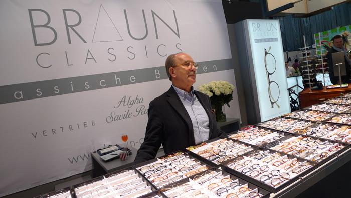 """OPTI 2015 BRAUN CLASSICS: Reinhold Braun: """"Das Klassische ist das Maß von Beständigkeit."""""""