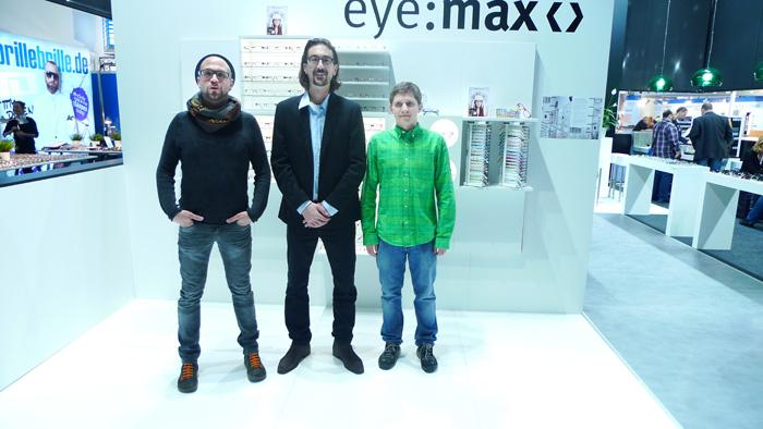 OPTI 2015 KOBERG TENTE: Daniel Gsottbauer, Markus Radlinger und Josef Huber (Vertrieb Österreich)