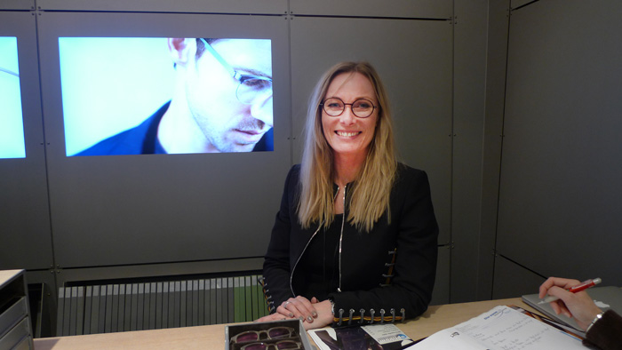 """OPTI 2015 LINDBERG: Birgitte Stentoft Bøjvad: """"Brille ist Handwerkskunst"""""""