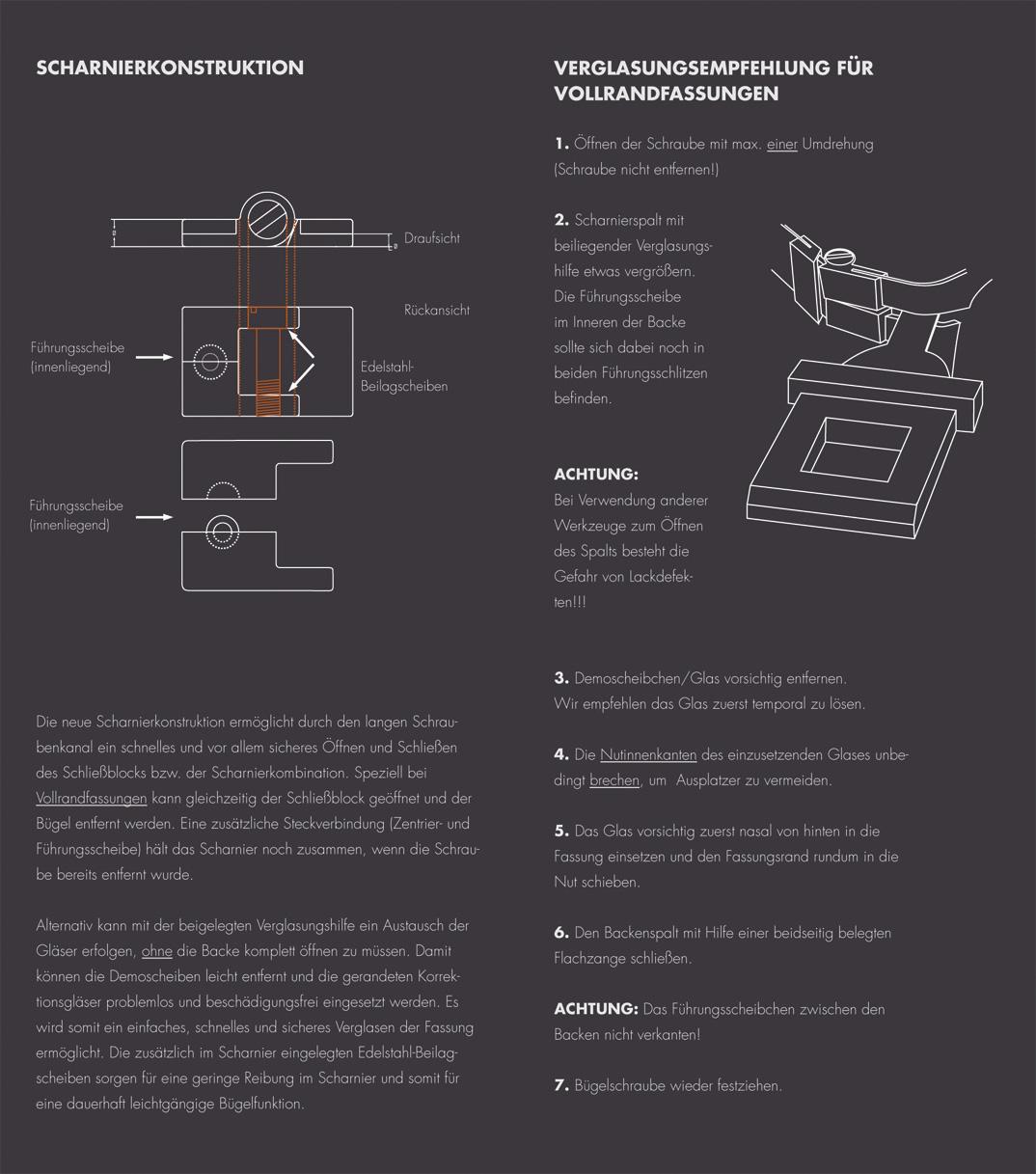 Freigeist Scharnierkonstruktion