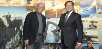 Willy Bogner und Oliver Kastalio