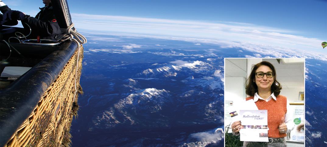 Alpenüberquerung IPRO Gewinnspielgewinnerin