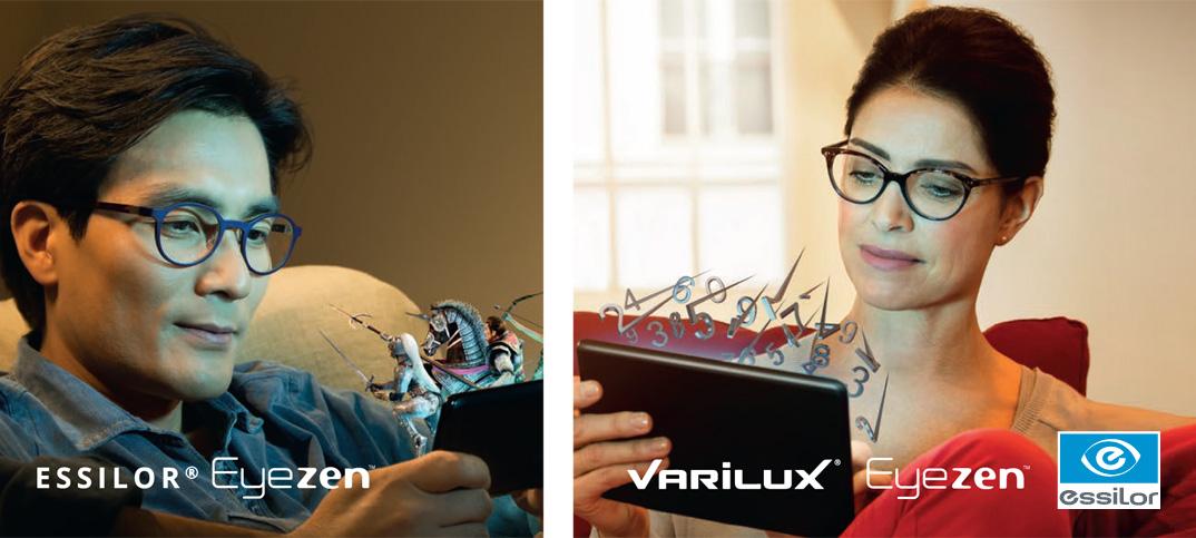 Essilor Eyzen und Varilux Eyzen