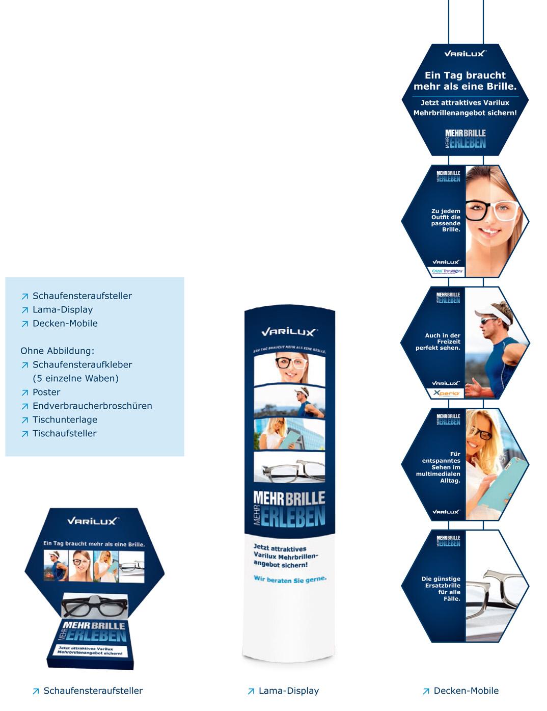 Essilor Mehr Brillen - Mehr Erfolg - Deko