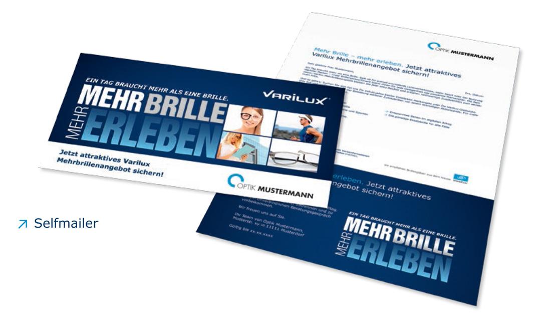 Essilor Mehr Brillen - Mehr Erfolg - Direct Mailing
