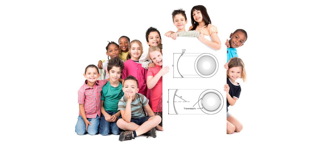 Kontaktlinsen bei kurzsichtigen Kindern