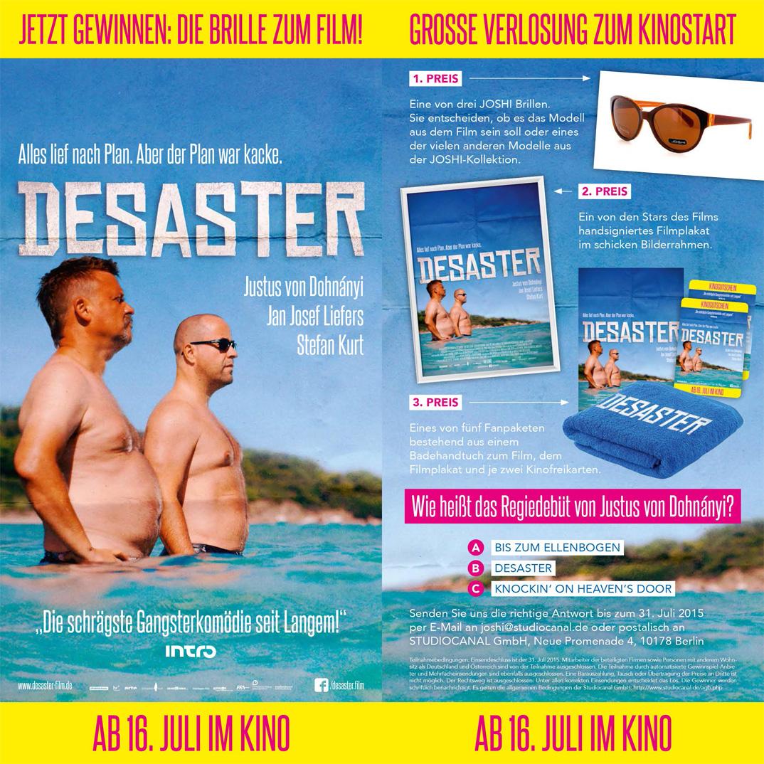 Flyer DESASTER Emmerich Brillen