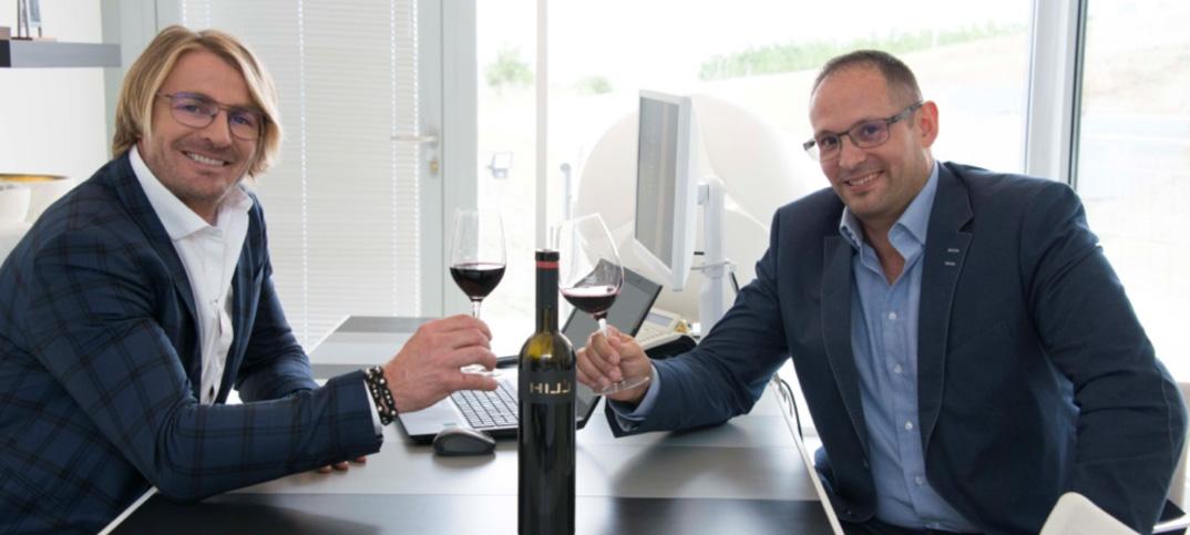 Jois Hillinger und Martin Decker