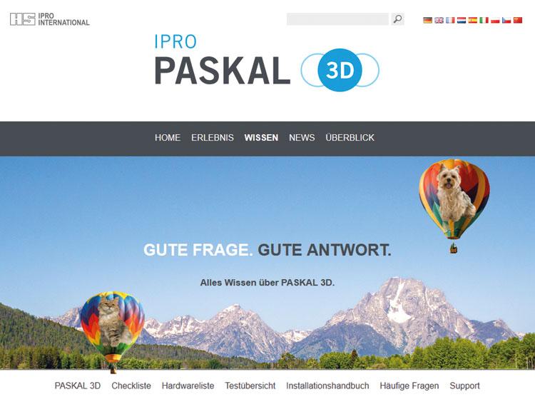 PASKAL 3D Website