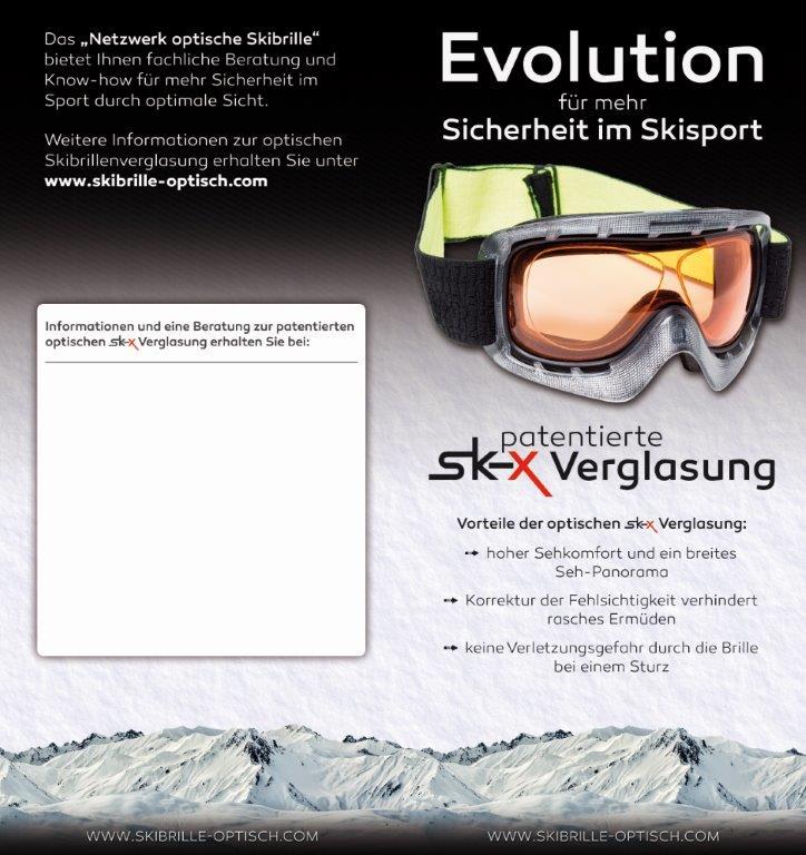 Optische Skibrille