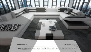 Virtuelle Szenen im 3D-Modus