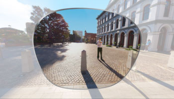 Reale Szenen in 360°-Panoramasicht