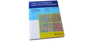 Tafeln zur Prüfung des Farbensinnes Farbensehens