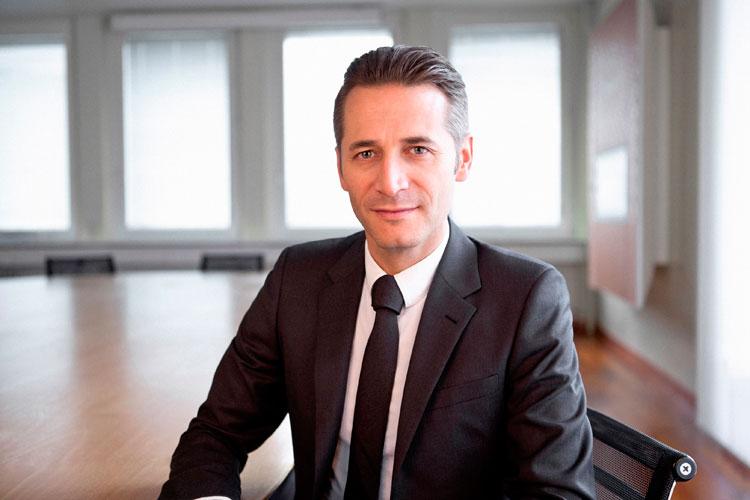 Raynald Aeschlimann Präsident CEO OMEGA