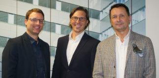 LIM Markus Gschweidl, Vortragender LIM Mario Teufl aus Kärnten und Dr. Peter Gorka