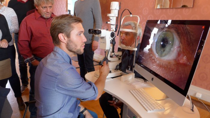 Individuelle weiche Kontaktlinsen Torven Ziehmer