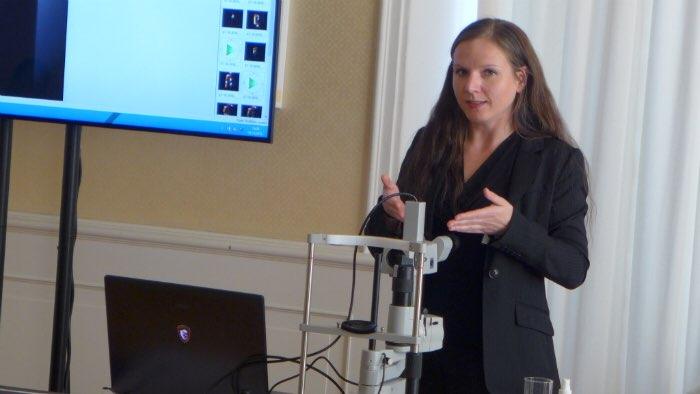 Spaltlampentechnik Judith Behm