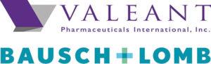 Bausch Lomb Valeant Logo