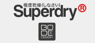 Superdry BODE Design Logo