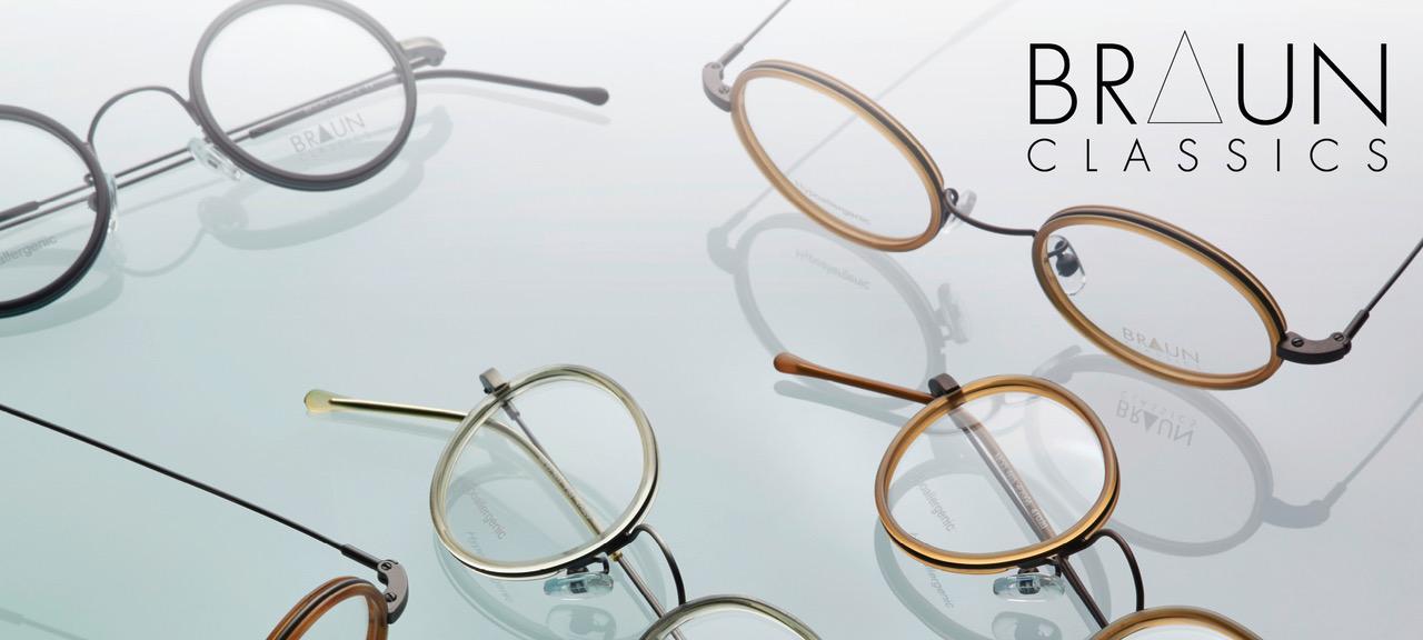 Brille Design | Braun Classics Klassisches Brillendesign Made In Germany Optikum