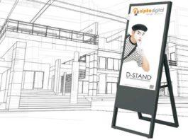 Digitaler Kundenstopper