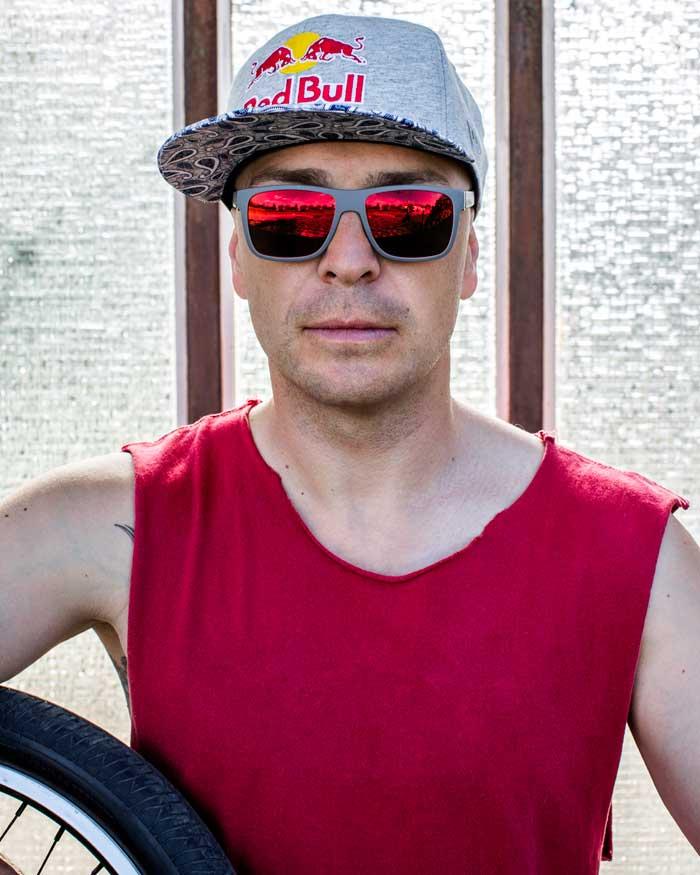 Senad Grosic, BMX-Rider