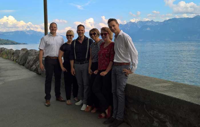 Das SwissLens Sales Team