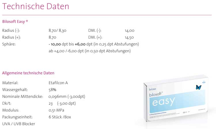 Bilosoft Easy+