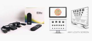Mit Elite wird jeder Monitor, PC oder TV zum Sehtestgerät