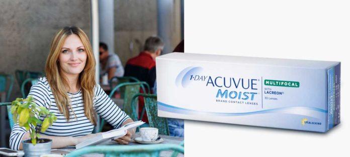 1-DAY ACUVUE®MOIST MULTIFOCAL ist eine ideale Kontaktlinse für die Versorgung presbyoper Kunden