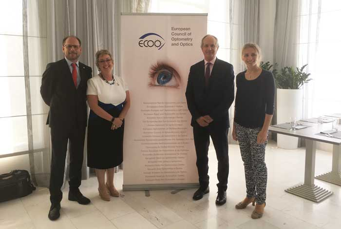 Frühjahrs-Generalversammlung des European Council of Optometry and Optics (ECOO)