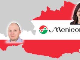 Das Menicon Gebietsleiter-Team in Österreich