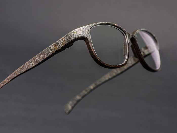 ROLF Spectacles stone eyewear break
