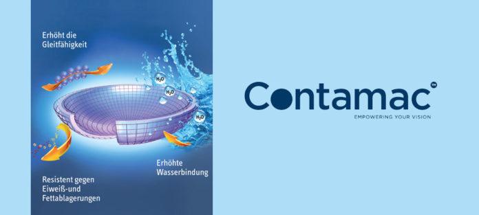 Kontaktlinsen-Oberflächenveredelungen Tangible Hydra-PEG™