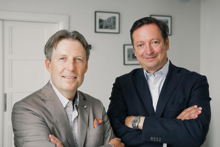 Walter Gutstein und Harald Belyus