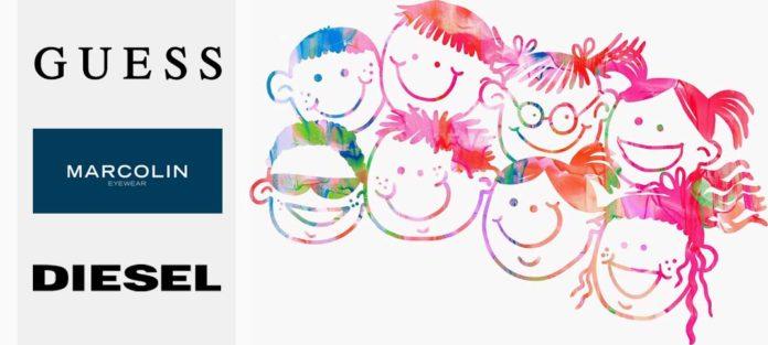 Diesel Eyewear und Guess Eyewear punkten bei Kids