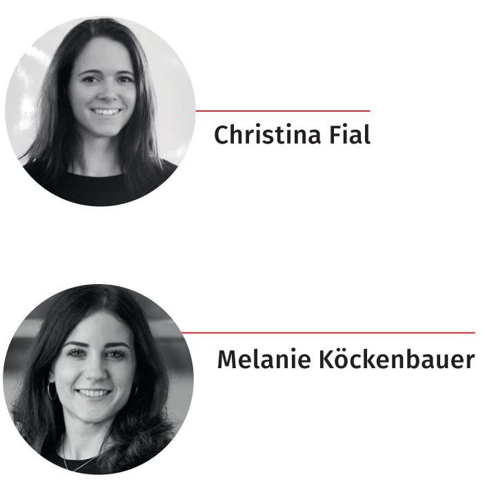 Christina Fial und Melanie Köckenbauer